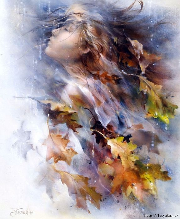 Autumn by Willem Haenraets... an idea? weave it into illustration??