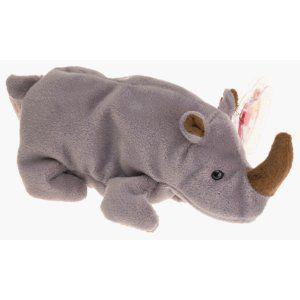 5060e788c0e Ty Beanie Babies - Spike the Rhinoceros (Retired)