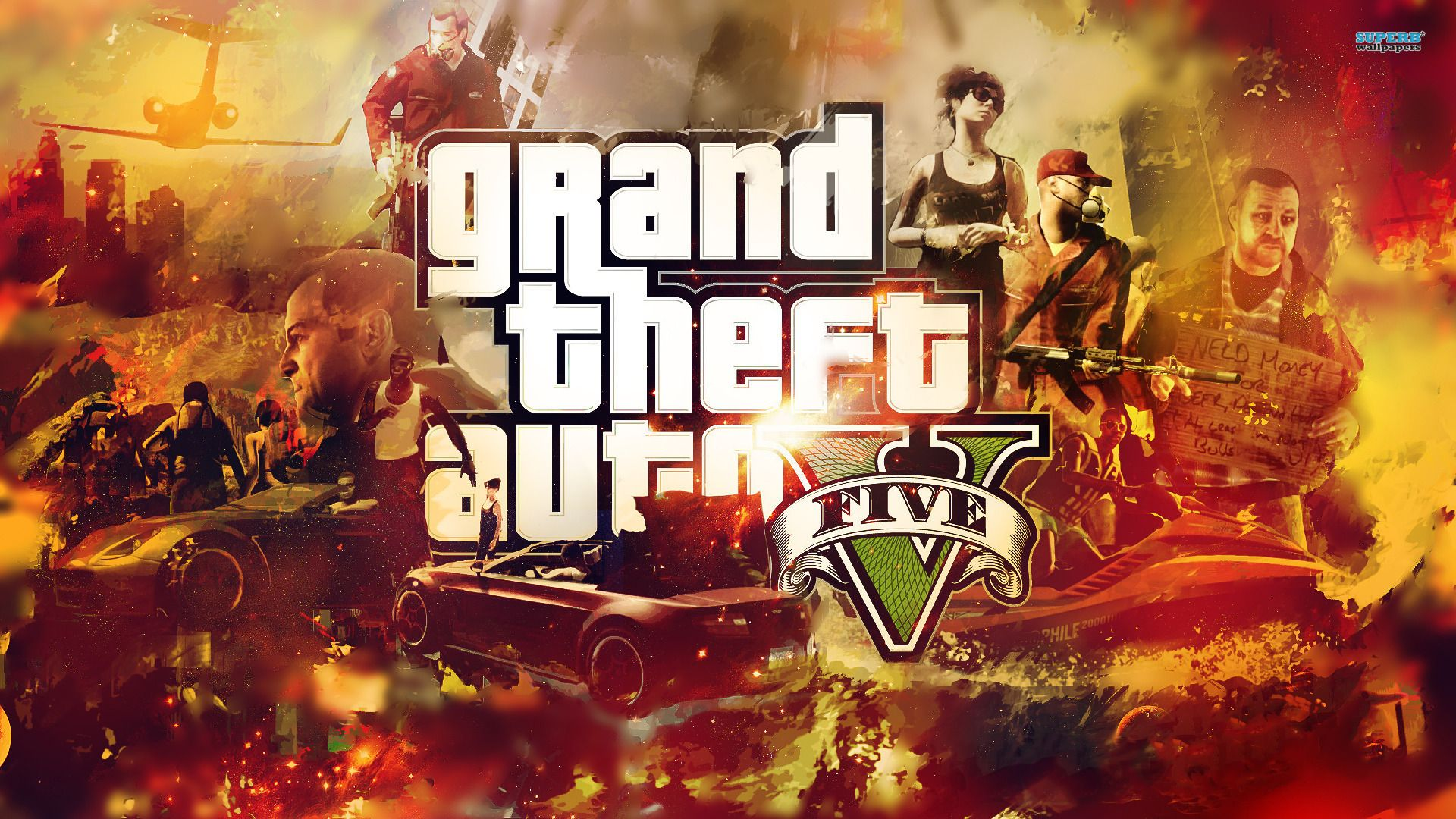 Grand Theft Auto V Wallpaper wallpapers Freshwallpapers