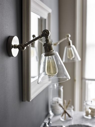 Neptune Keats Single Arm Wall Light Small  Lighting  Bathroom Pleasing Small Wall Sconces For Bathroom Design Inspiration