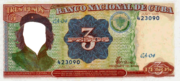 Custom Fake Money Image Template Cuba Bank Notes Havana Nights Party Theme