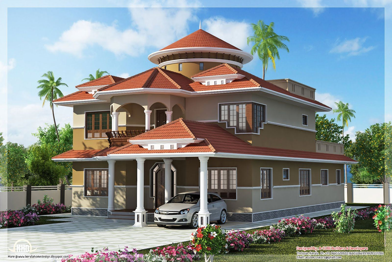 Beautiful Dream Home Design In 2800 Sq Feet In 2020 Modern Bungalow House Design Kerala House Design Bungalow House Design