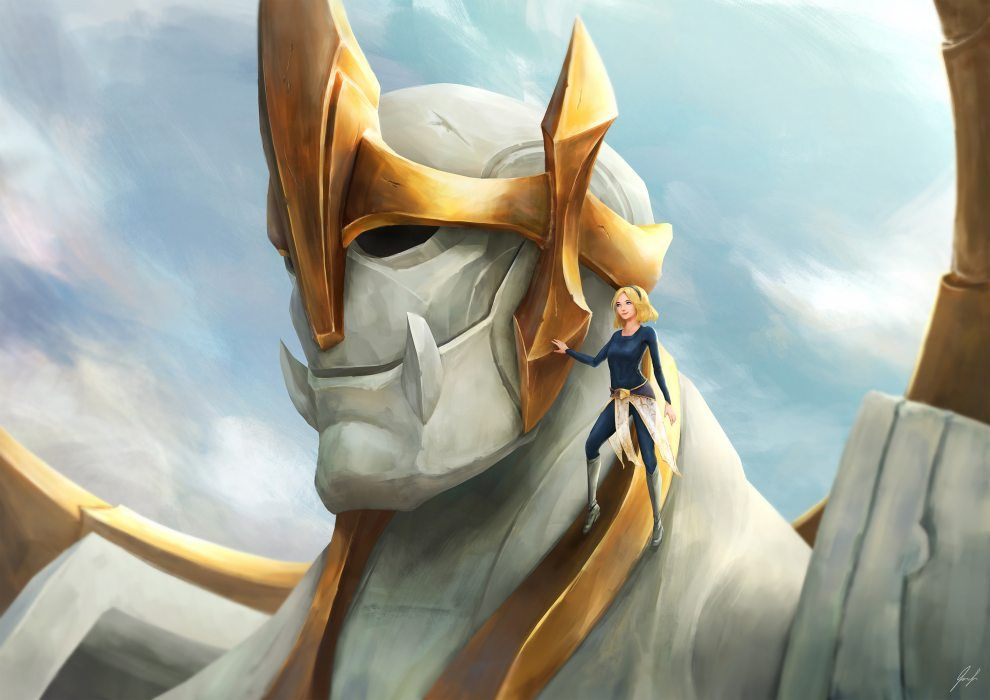 Young Lux Galio By Cheesewoo Hd Wallpaper Fan Art Artwork League Of Legends Lol League Of Legends League Of Legends Characters Lol League Of Legends