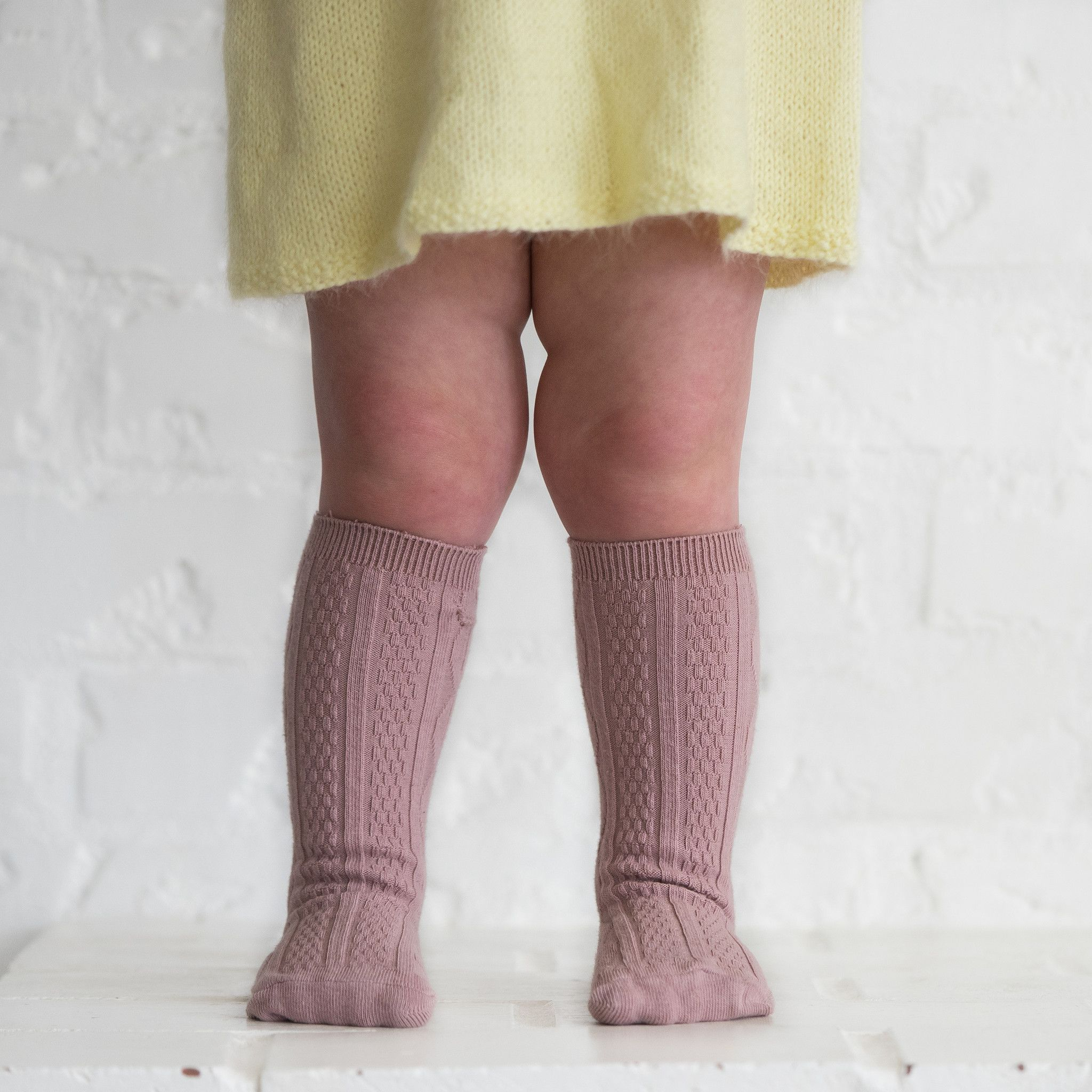 Dusty Pink Knee High Socks Kaia Jade Otake Pinterest