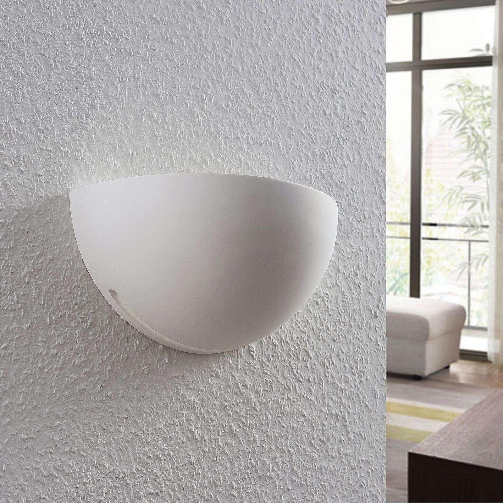 Moderne Wandfluter von LINDBY Weiß #gesso