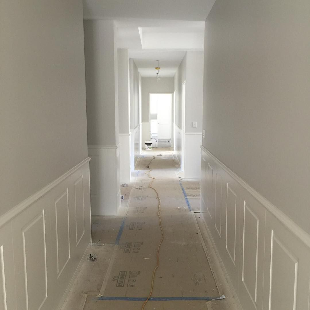 Foyer Paint Kit : Panelling in and painted easycraft panels easyascot