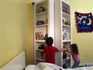 Diy How To Create A Bifold Bookcase Door Perfect To Hide The