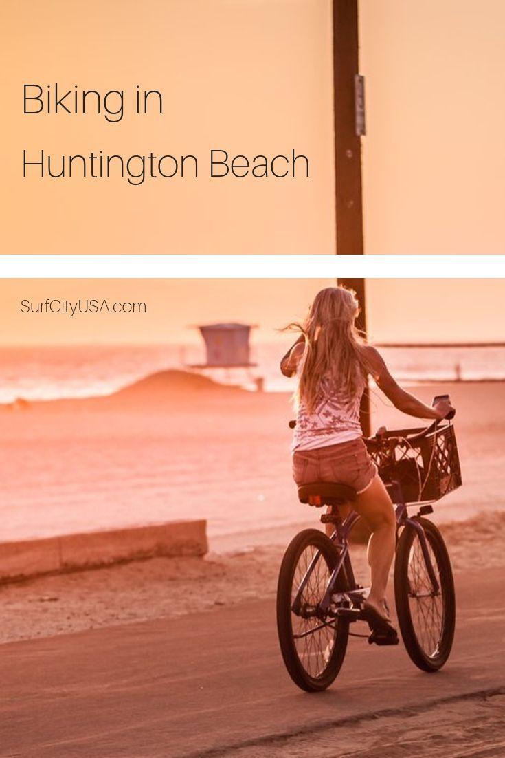 Biking in huntington beach ca beach bike ride