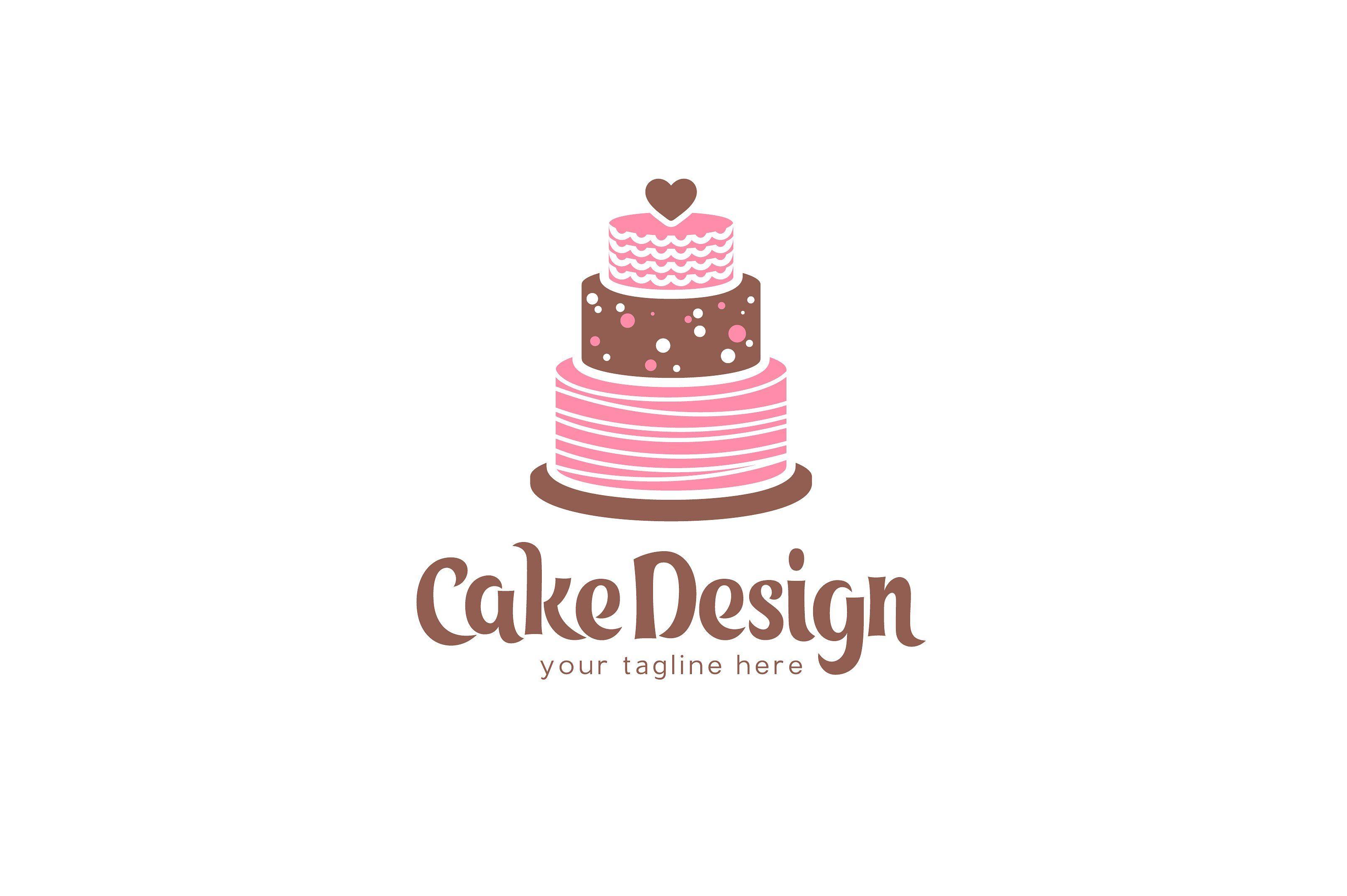 cake decor logo design Cake Design Logo  Cake logo design, Cake logo, Logo design