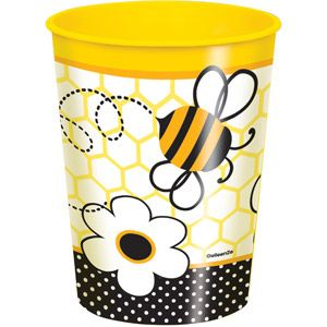 16 Oz Bumble Bee Plastic Cup