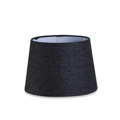 Mix Match Small 10 Inch Hardback Drum Lamp Shade In Black