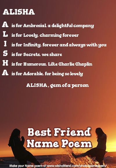 Acrostic Best Friend Name Poem Acrostic Best Friend Poem For Your Name Alisha Gem Of A Person Friend Poems Together Quotes Poems