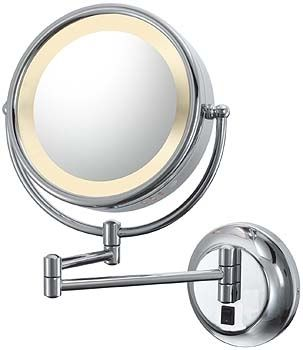 953 Series Reversible Lighted Kimball Young Make Up Mirror Perfect Lighted Wall Mirror Makeup Mirror With Lights Lighted Vanity Mirror