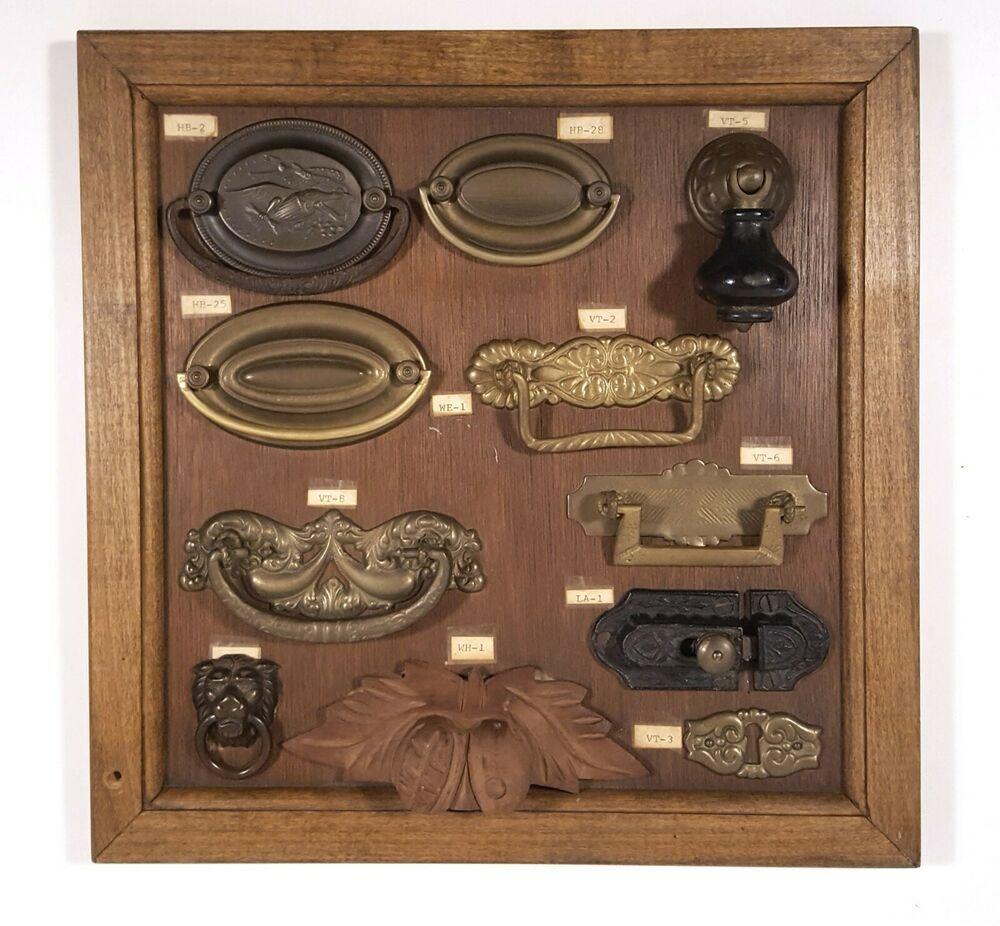 Details About Antique Drawer Pulls Cabinet Handles Locks Vintage