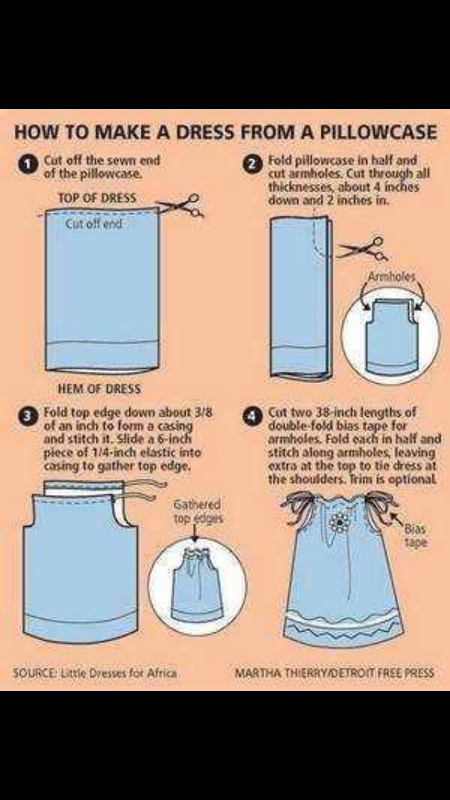 Pillow Case Dress Another Something I Would Like To Attempt For My
