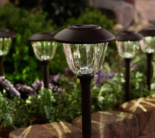Solar Landscape Light Set 59 96 Qvc