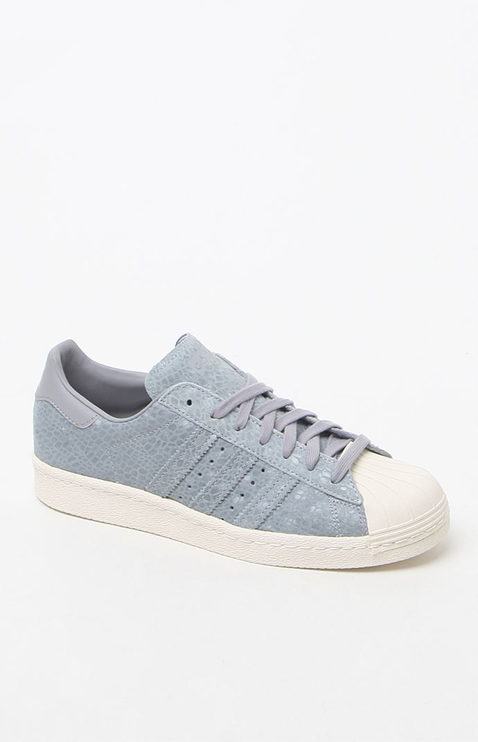 shallow FALSE Outdoor  adidas Superstar 80's Gray Low-Top Sneakers at PacSun.com | Adidas superstar  80s, Adidas superstar, Top sneakers