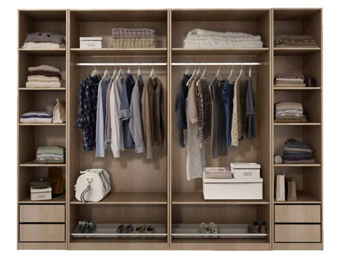 un dressing astucieux pour deux a 808 699 522 pixels dressings pinterest. Black Bedroom Furniture Sets. Home Design Ideas