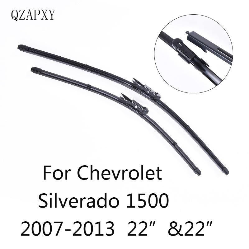 Qzapxy Car Wiper Blades For Chevrolet Silverado 1500 22 22 2007