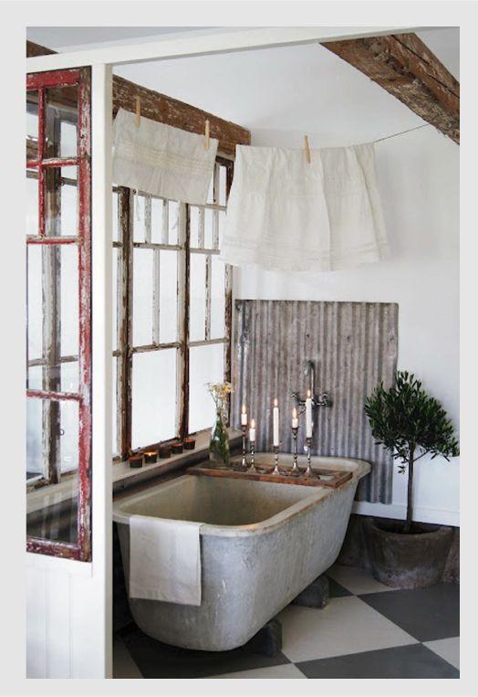 Dedicato a chi ama sognare: la vasca vintage | Pinterest | Vasche da ...
