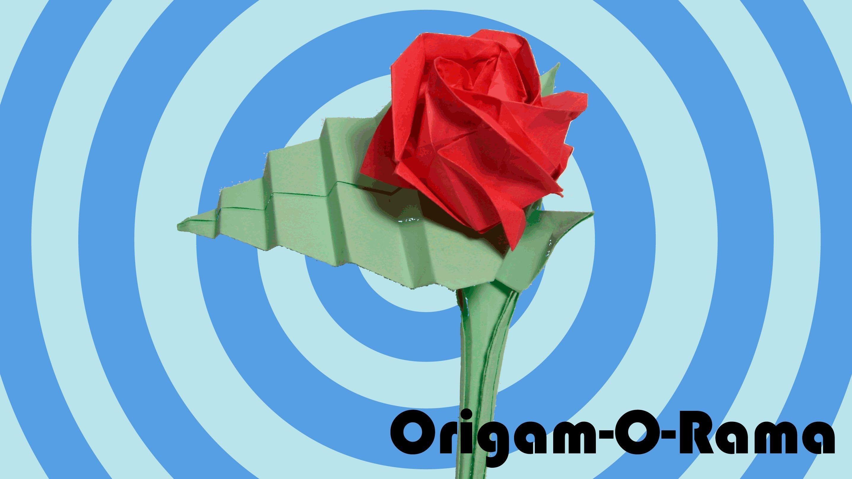 cmo hacer una rosa de papel parte 1 - Hacer Rosas De Papel