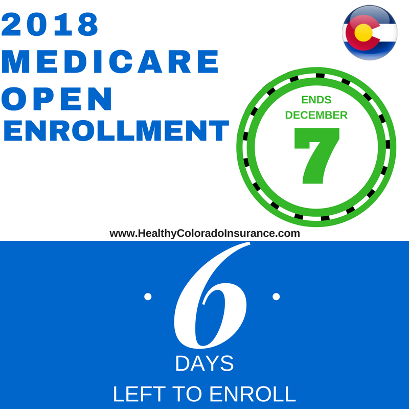 Only 6 days left in this year's Medicare Enrollment