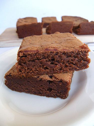 ginger jazzed brownies