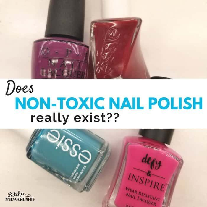 Nail polish is full of toxic ingredients, but there are natural and ...