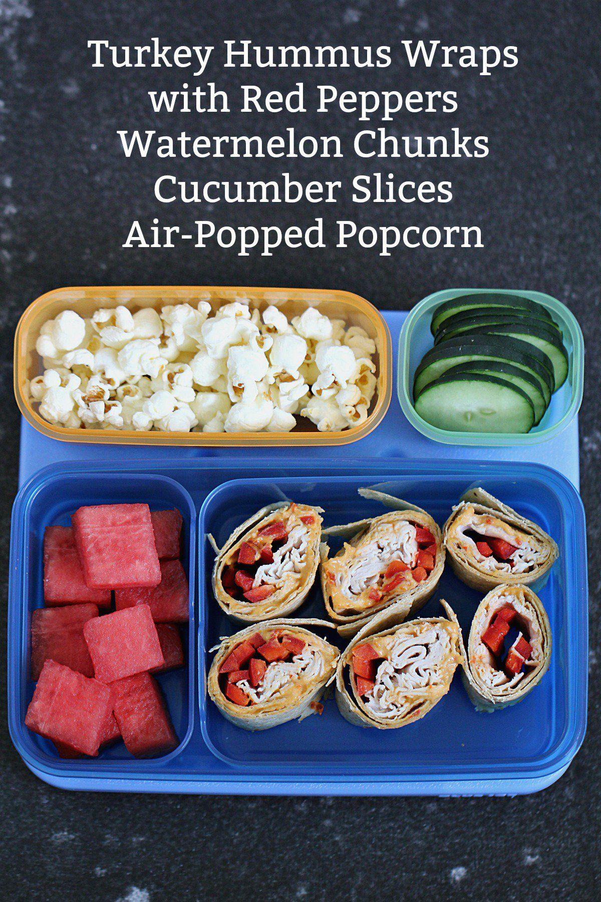4 healthy school lunch box ideas  healthy school lunches