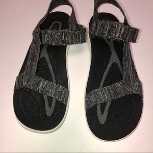 Men terra float 2 knit universal sandals black 12