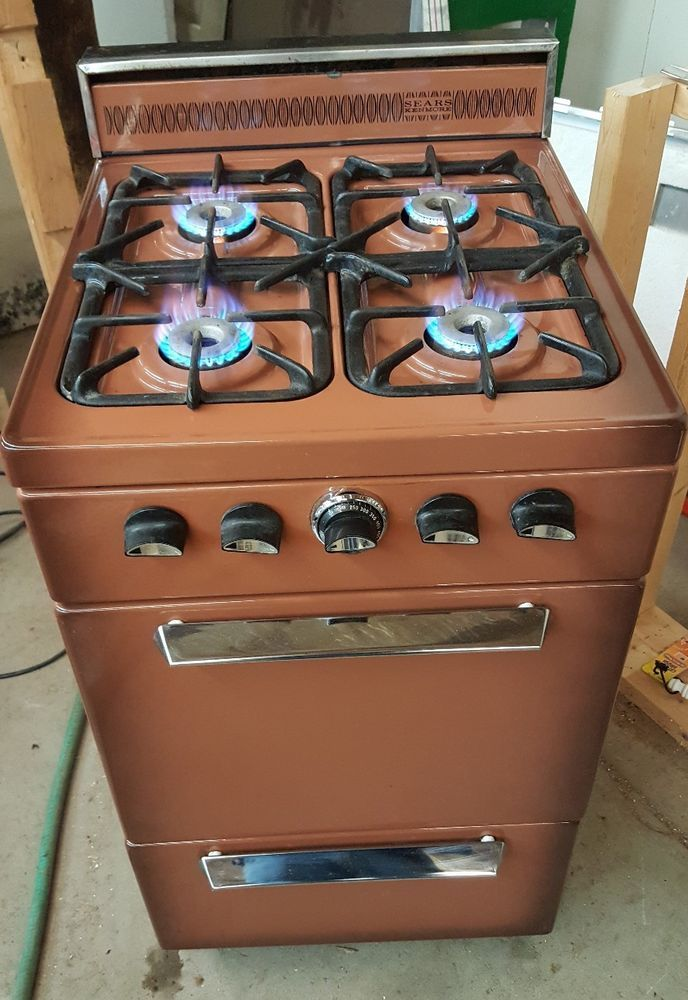 Vintage Kenmore (Roper) LP Apartment Sized Gas Stove 20\