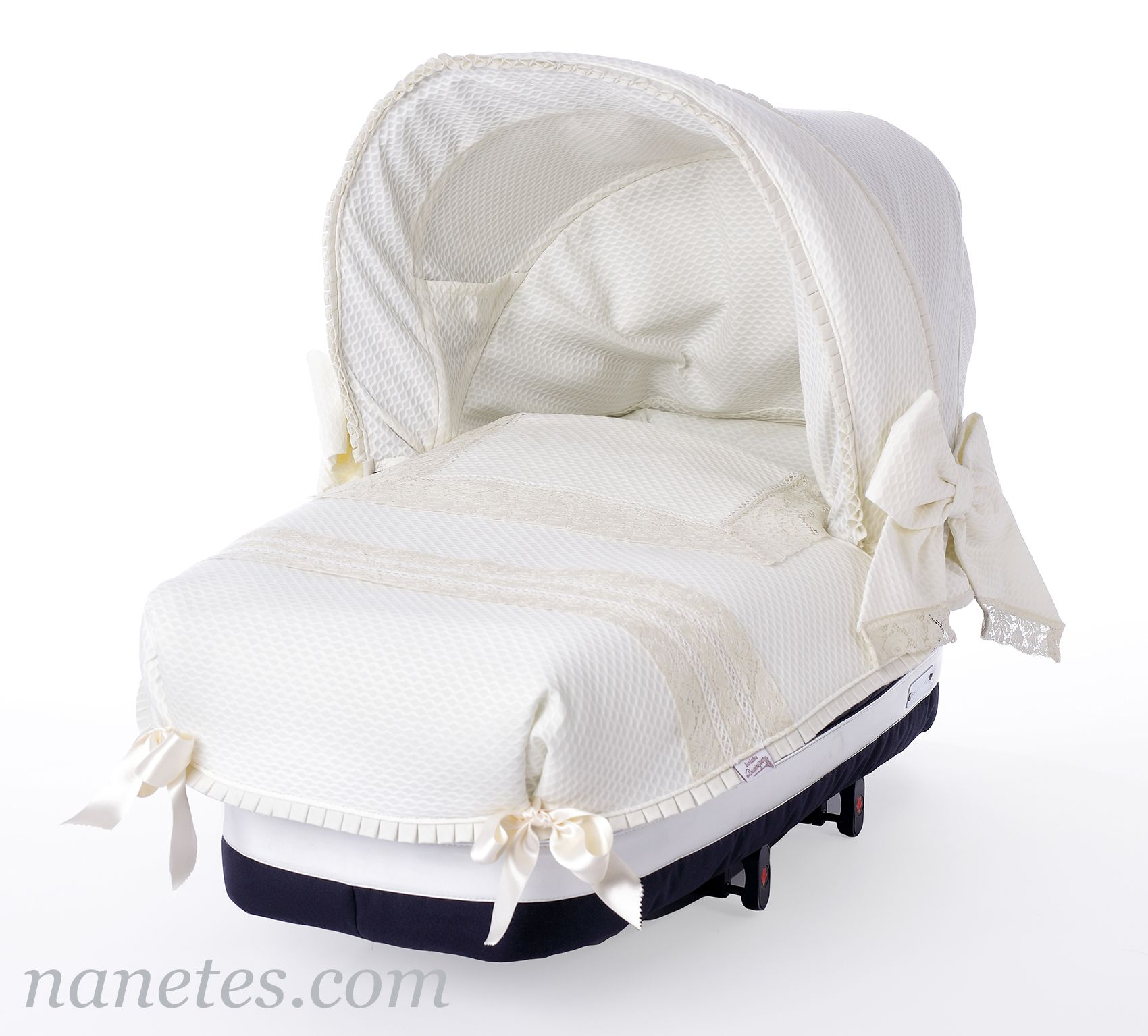 Quieres vestir el carro de tu bebé a medida? En Nanetes