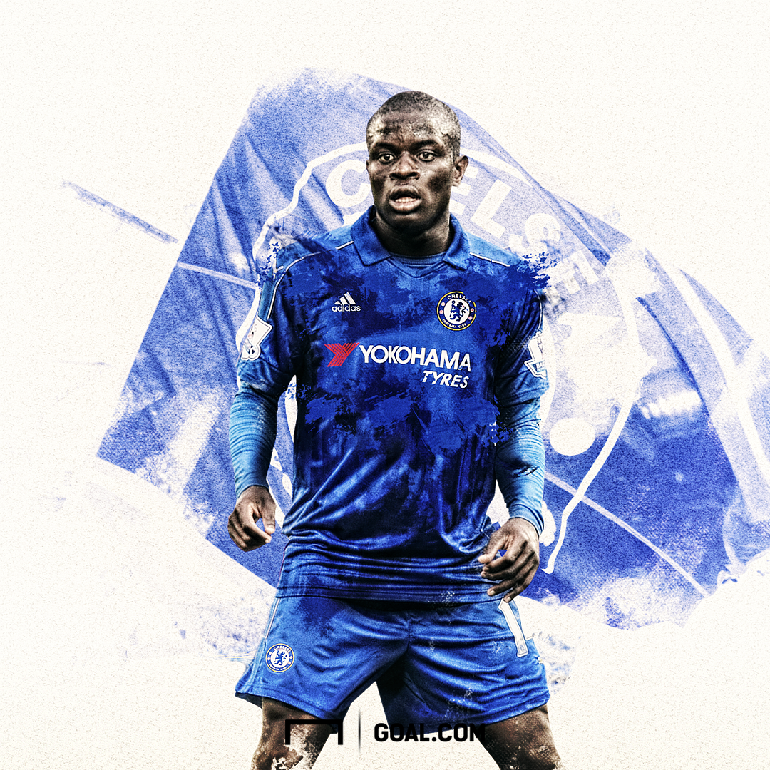 hot sale online 8a9d1 3ac3a Chelsea have announced the signing of N'Golo Kante on a five ...