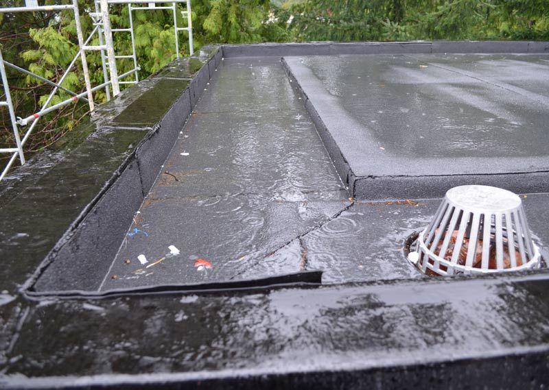 Flat Roof Leak Leaking Flat Roof Flat Roof Roof Repair Diy
