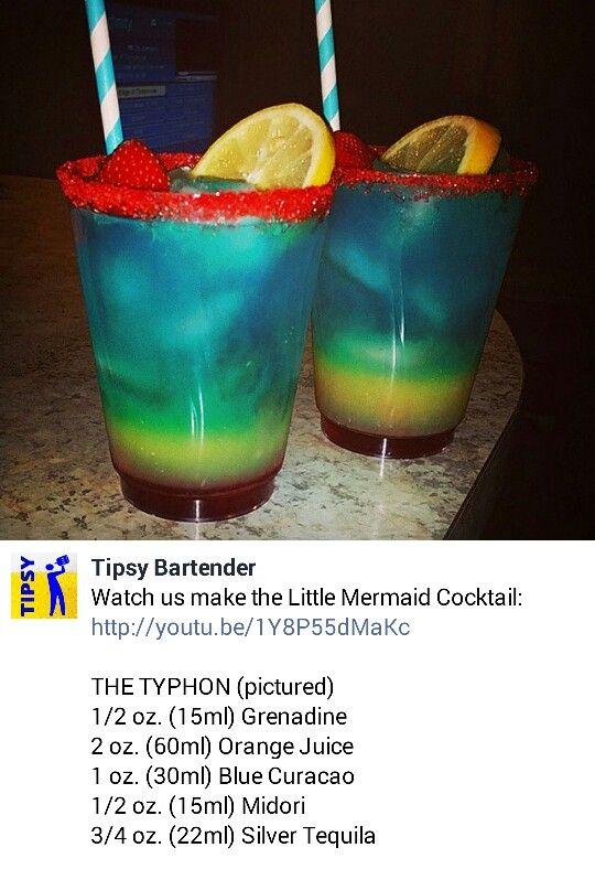 Case of 1000 Mermaid Picks Mermaid Cocktail Drink Markers