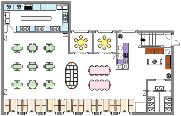 Mensa-Sitzplan-Vorlage | Grundriss Baupläne | Pinterest | Hochzeit