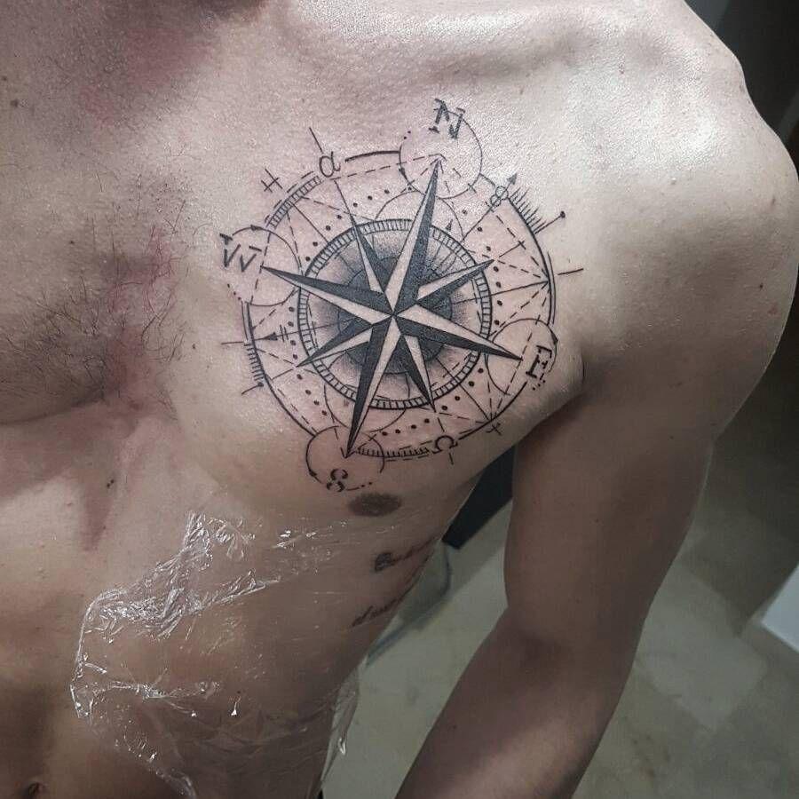 Artista Tatuador Abraham Hernandez Montes Tatuajes De Brujulas