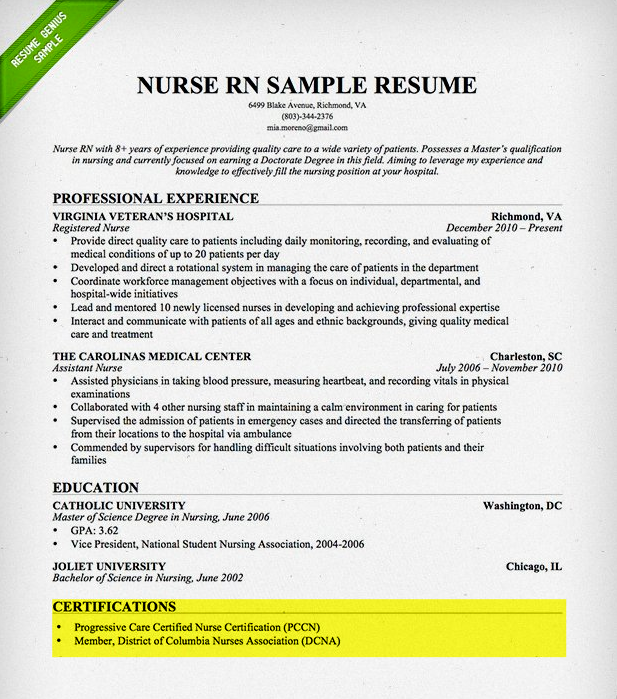 build your resume from the bottom up free step by step