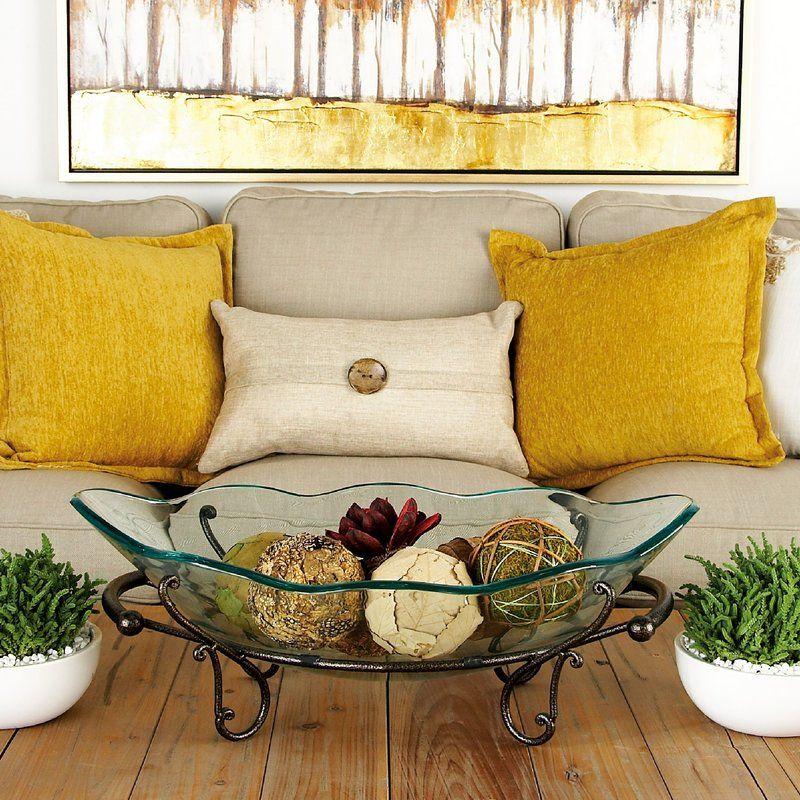 Antique Bronze Glass Fruit Decorative Bowl Decorative Bowls Decorative Stand Glass Bowl Decorative bowls for living room