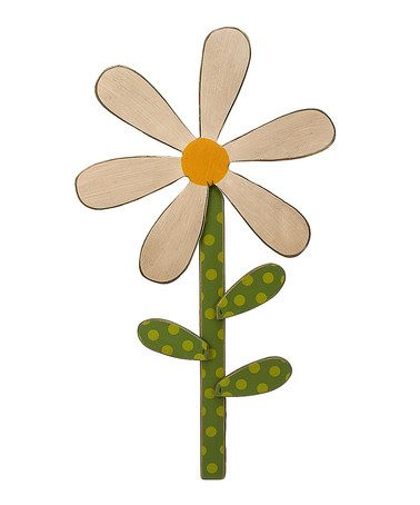 Take a look at this Daisy Sign by Collins on #zulily today!