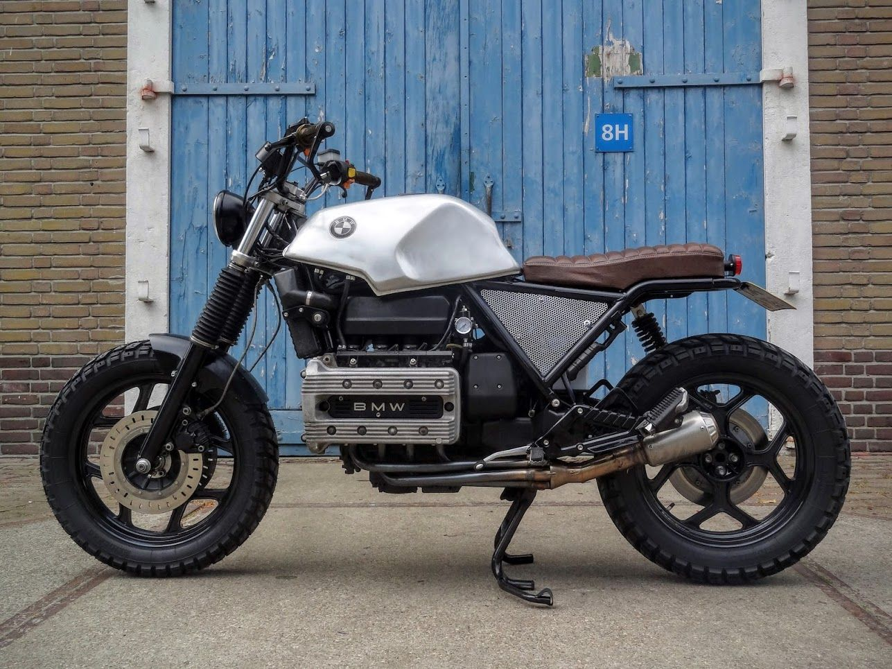 k100 rs scrambler by ronald jonkman bmw k100 k100rs. Black Bedroom Furniture Sets. Home Design Ideas