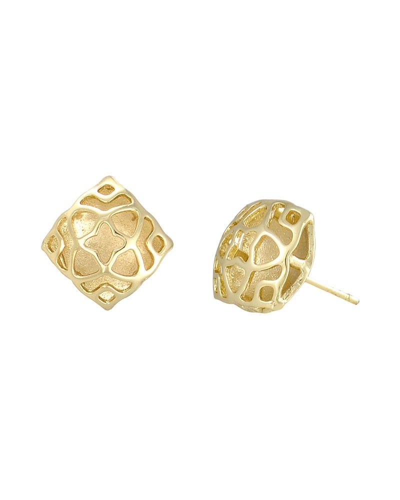 real image handmade stud and silver tiny moon zoom gold star studs earrings