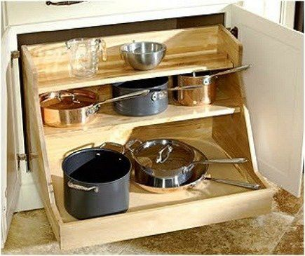 53 Cool Pull Out Kitchen Drawers And Shelves Shelterness Beautiful Kitchen Cabinets Pull Out Kitchen Cabinet Update Kitchen Cabinets