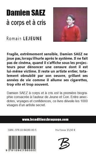 Saez Damien Saez Affiche Chanson