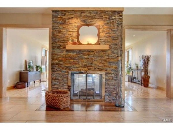 Fireplace Double Sided Gas, Double Sided Gas Fireplace Insert With Blower
