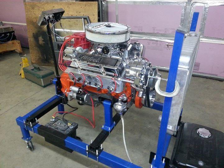 Engine run test stand gar zs pinterest engineering for Garage auto fab ennery