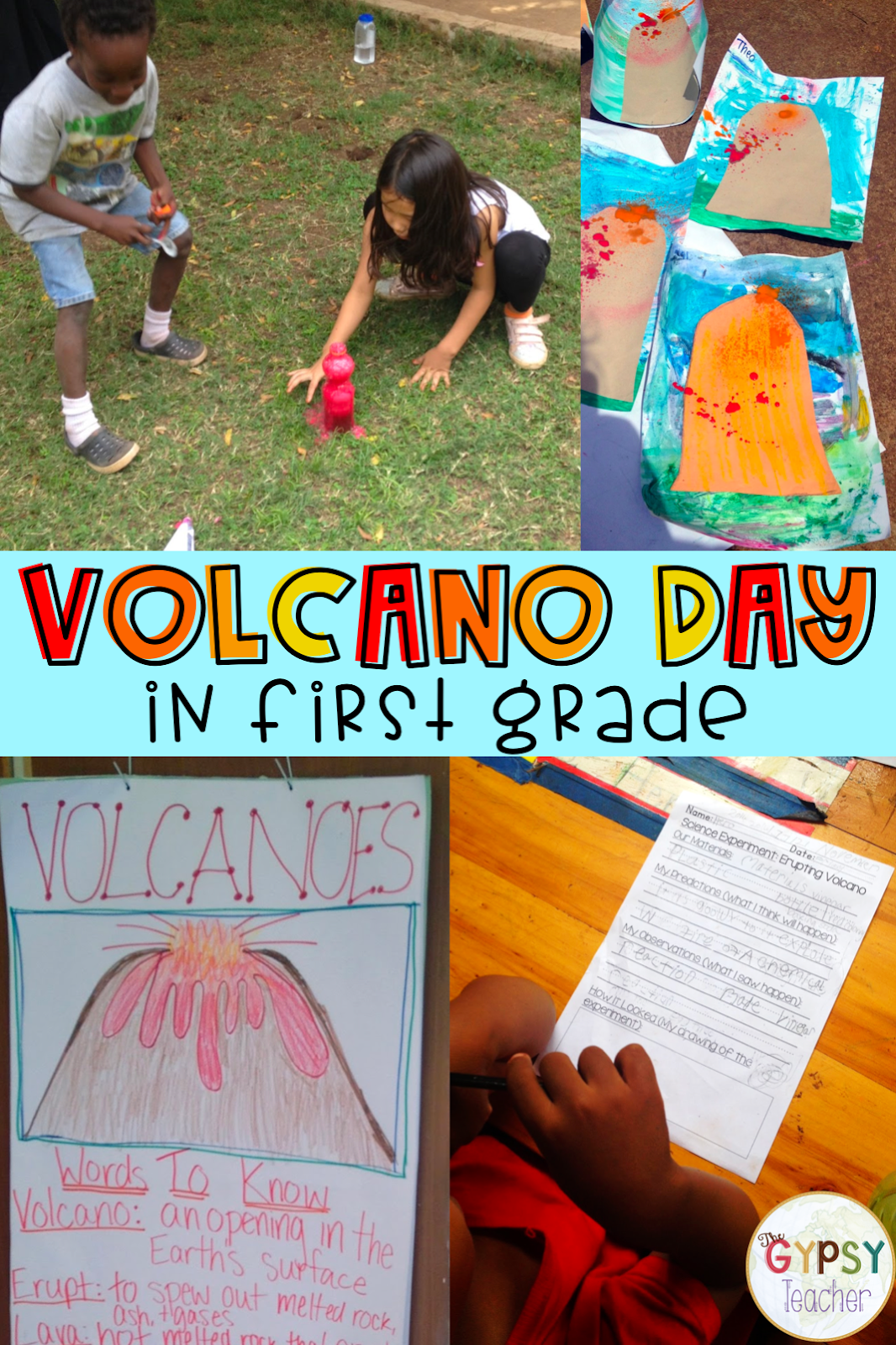 Volcano Activities For First Grade Volcano Day