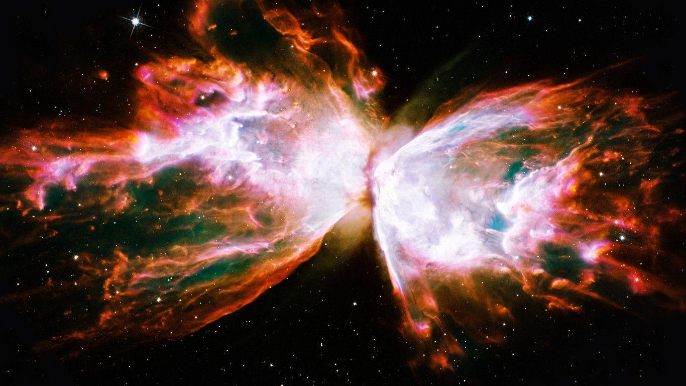 Butterfly Nebula HD (page 2) - Pics about space