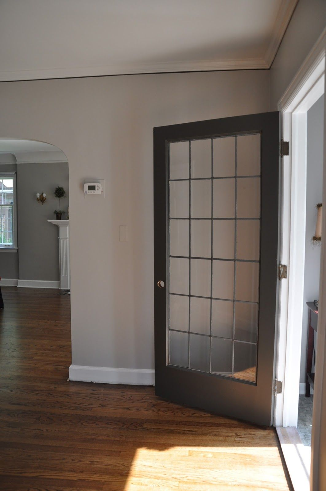 Wall color smoke embers by benjamin moore mixed by - Benjamin moore interior paint colors ...