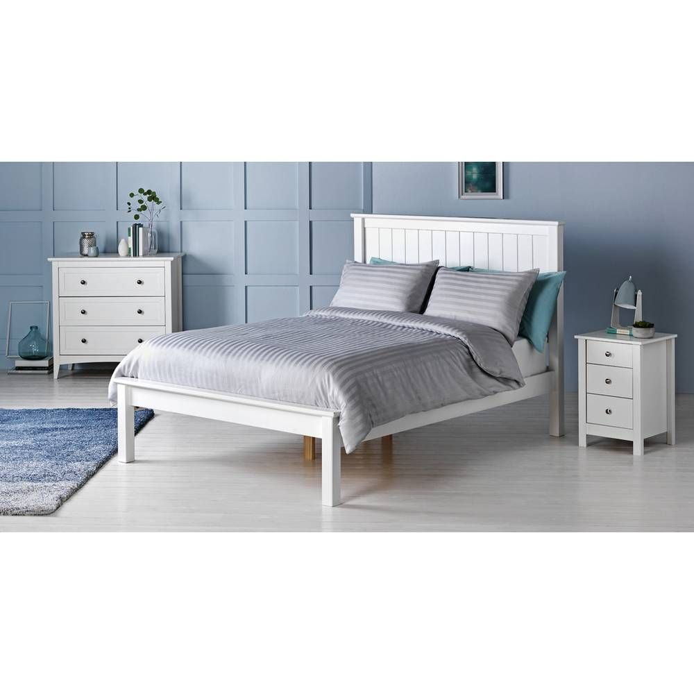 Buy Argos Home Grafton Double Bed Frame White Bed Frames